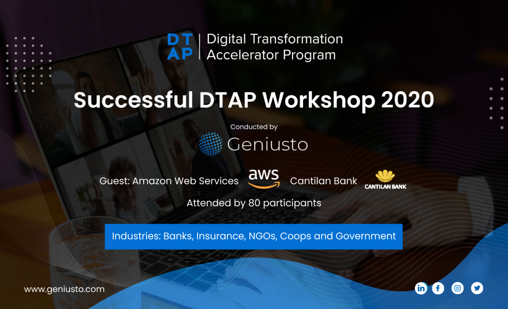 DTAP 2020 delivers a successful online accelerator workshop