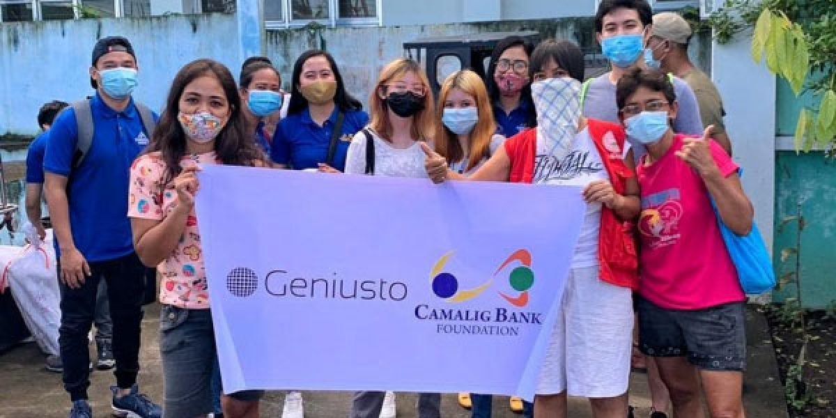 Camalig Bank at the forefront of providing much-needed relief to typhoon-stricken Albay